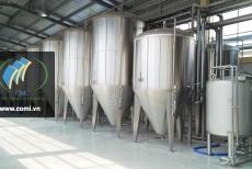 Quá trình sản xuất bia